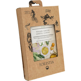 Forestia Heater Outdoor Pasto pronto vegano 350g, Vegan Green Lentil Curry